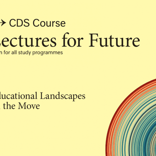 Lecture for Future: Educational landscapes on the Move